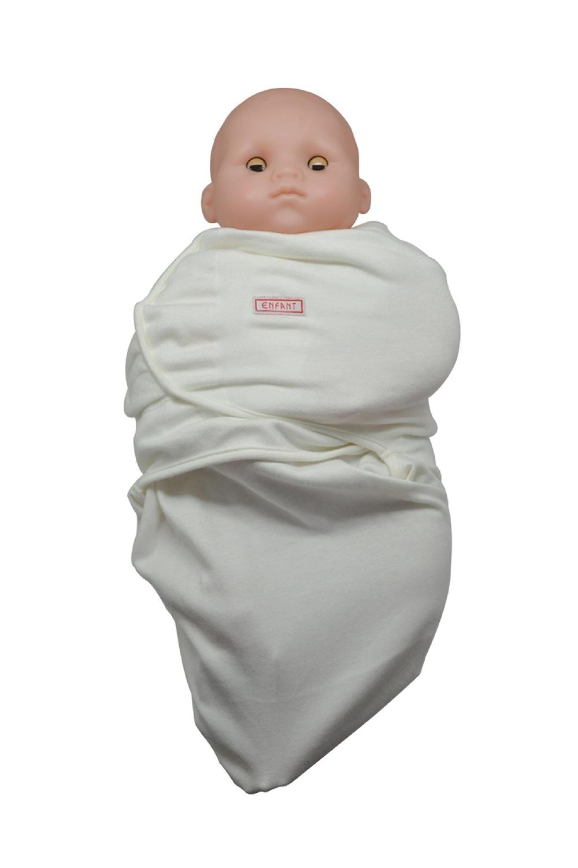 Enfant Baby Swaddle (Cream) - thumbnail