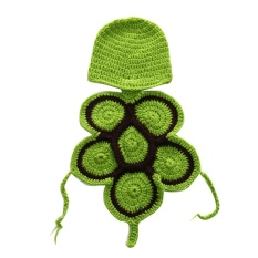 Etouch Cute Tortoise Baby Crochet Hat Photo Outfit Handmade Photography Props - intl