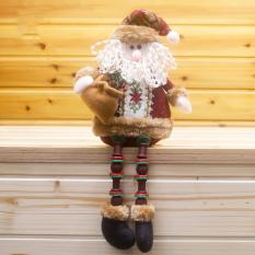 Fancyqube 1pc Christmas Decorations Santa Claus Sitting Porcelain Snowman Christmas Ornamen H01 - Intl By Fancyqube Fashion.