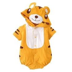 Fashion Newborn Toddler Boy Girls Siamese Clothes Cute Tiger Shape Style Jumpsuit Bodysuit Infant One Piece