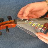 Position Marker Decal Fingerboard Fret Guide Label Finger Chart Beginner Cello Sticker Accessories White Sports & Entertainment Cello