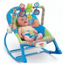 Fisher-Price Infant To Toddler Rocker, Snail (blue) By Happy Choice.