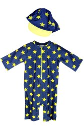 2pcs Kids Swimwear Set Baby Swimsuit Toddler Bathingsuit Five Pointed Star