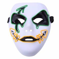 Frightening Luminous EL Wire Led Mask Halloween Light Up Cosplay Mask Costume Masks for Halloween  sc 1 st  Lazada Philippines & Costume Wigs for sale - Costume Masks online brands prices ...