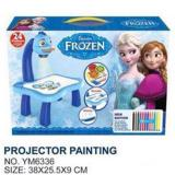 frozen kids projector painting buy sell online drawing painting
