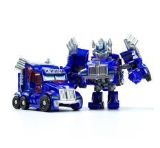 FS Big Sale Pocket Transformation Robot Car Toy Cute Mini Deformation Car Model Toys Gift for Boys Style:Blue Trucks Lucky-G