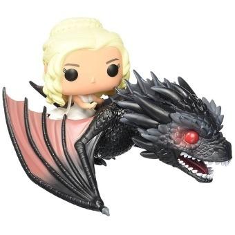Game of Thrones Figures Drogon & Daenerys Rides Drogon Key Pvc Action Figure doll model toy