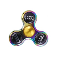 Great Fun RAINBOW Auto Logo Car BMW Fidget Tri Spinner Hand Desk Focus Toy EDC Gift