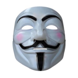 Halloween Cos-play Cool  Vendetta Anonymous Movie Mask