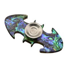 Hand Spinner EDC Pocket Fidget Spinner Focus Desk Toy ADHD Anti Stress Gifts Bat Multicolor -