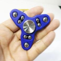 Hand Spinner Tri Fidget Steel Ball Desk Toys EDC Stocking Stuffer Kids/Adult - intl