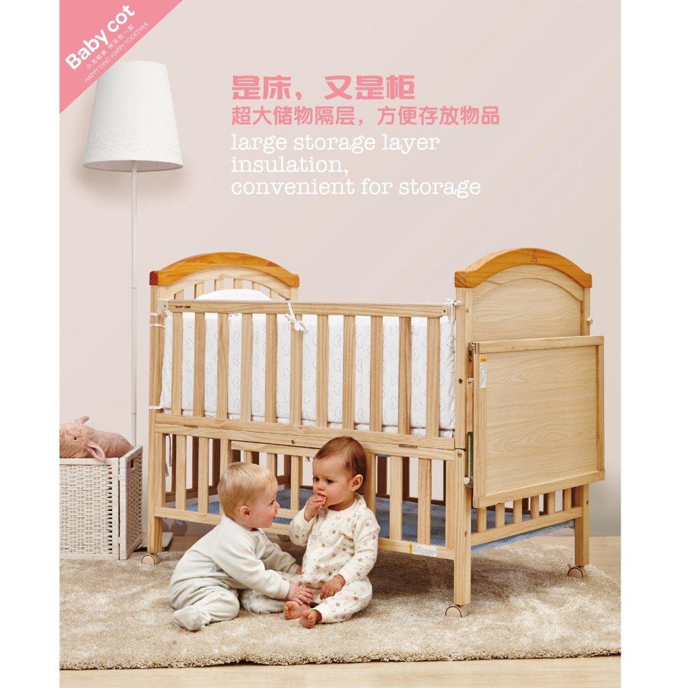 Happy Dino Baby Crib Lmy643 K261