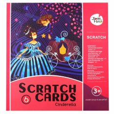 Happy Kids Joan Miro Scratch Cards - Cinderella By Happy Kids.