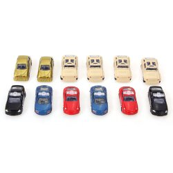 HKS 12pcs 1:64 Mini Model Racing Cars Alloy Armored Car Kids Children Gift Toys - Intl