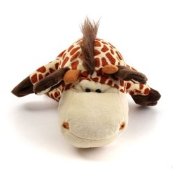 HKS Cute Cartoon Animal Doll Kids Glove Hand Puppet Soft Plush Toys Story Telling Old Style Giraffe - Intl