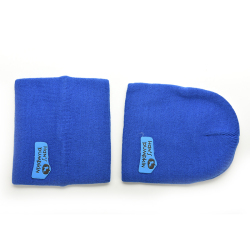 HKS Cute Winter Baby Cap Knitted  Royal Blue (Intl)