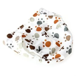HKS Dog Footprints Baby Diaper - Intl