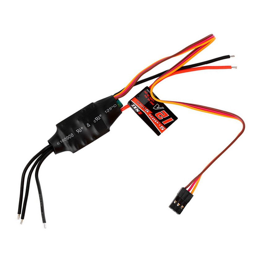 HKS :EMAX Simonk 12A Firmware Brushless ESC with 1A 5V BEC - Intl - thumbnail