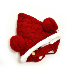 HKS Lovely Kid Baby Hat Dual Balls Red (Intl)