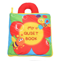 HKS Toy-0707 Textile Book Handle Shape Learning ? (Intl)