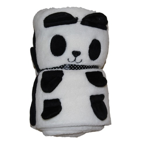 Interplas Foldable Baby Blanket(Panda) - thumbnail