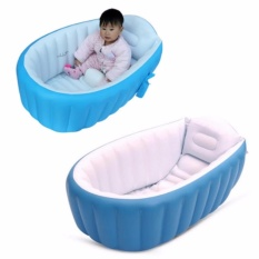 Intime Plastic Baby Inflatable Yt-226a Bath Tub (blue) By Usje Trading.