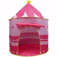 Kiddie Pink Castle Tent By Tickle Me Not.