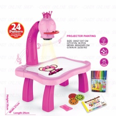 Kids Children Educational Early Learning Porjector Painting Toy Set By Candy Online Shop.