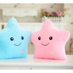 Stuffed toys for sale plush toys online brands prices reviews led colorful light pink star pillow plush stuffed toys aloadofball Gallery