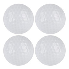 Led Glowing Ultra Bright Golf Balls For Night Training 4pcs - Intl By Y-Crown.