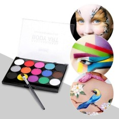leegoal 15 Colors Face Paint Kit ,Eco-friendly Non-toxic,Professional Face