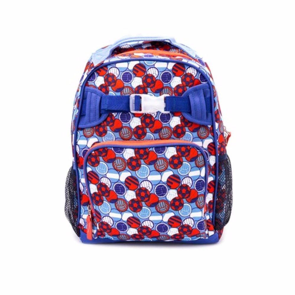 Lily and Tucker Boy's Ball Medium Backpack (Blue) product preview, discount at cheapest price