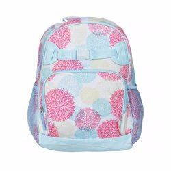 Lily and Tucker Girl's Flower Medium Backpack