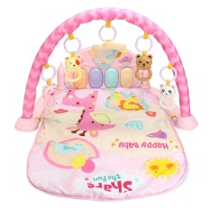 Lovely Pin Baby Piano Gym Crawl & Play Soft Activity Musical Lullaby Mat - Intl By Autoleader.