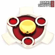 Madaras Final Mangekyou Sharingan Fidget Spinner (silver) By Otaku Shoppu.