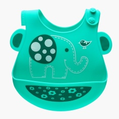 Marcus & Marcus Elephant Bib With Crumb Catcher By The Sm Store.