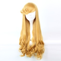 M Cos Er Sleeping Beauty Princess Aurora Wig Cos Anime Curly Hair By Taobao Collection.