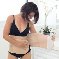 Mother Post Pregnancy Recovery Support Belly Band / Slimmer Belt By Best Store Best Buys.