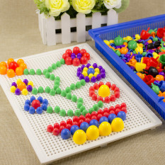 Kids Intelligent Mushroom Nail Pegboard By Taobao Collection.
