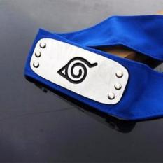 Naruto Forehead Fashionable Headband Cartoon Cosplay Accessories (blue) By 101 Bamboo Art Products.