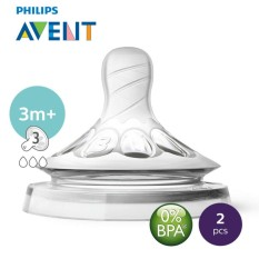 Philips Avent Nat. Teat Medium Flow By Lazada Retail Philips Avent.