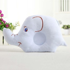 Newborn Baby Head Back Anti Roll Sleep Elephant Positioner Protect Pillow - Intl By Y-Crown.