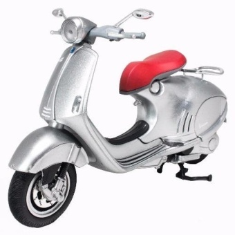 NewRay 1:12 Die-cast Vespa 946 Scooter Motorcycle Silver ColorModel Collection Christmas New Gift(Silver) - intl