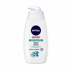 Nivea Baby Pure & Sensitive Wash Lotion 500ml By Watsons Personal Care Stores.