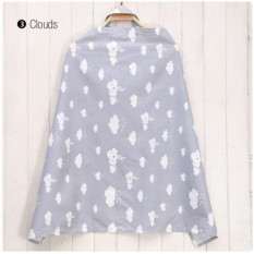 Nursing Cover Breast Feeding Cloud Design By Lucky Boy.