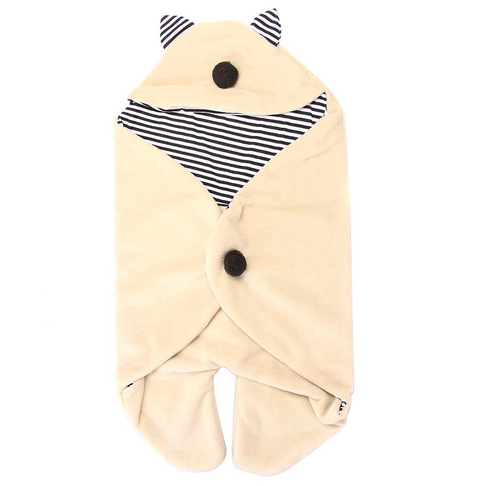 OEM Baby Swaddle Cotton Blanket - Krem - thumbnail