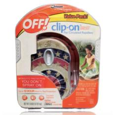 Off! Clip-On Mosquito Repellent Fan By Luxxe Goods Online Shop.