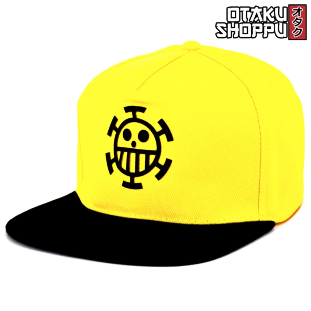 One Piece Anime Unisex Fashionable Snapback Cosplay Cap (yellow/black) By Otaku Shoppu.