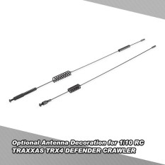 Optional Antenna Decoration For 1/10 Rc Traxxas Trx4 Defender Crawler - Intl By Outdoorfree.