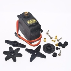 Original Towerpro Mg995 Servo 100% Metal (black) By V. Sy Electronics.